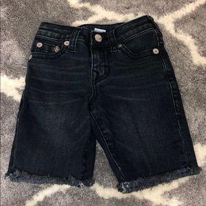 True religion little boy shorts